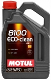 Моторное масло Motul 8100 Eco-clean 5W-30 C2 5л