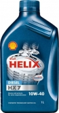 Моторное масло Shell Helix Diesel HX7 10w40 1л